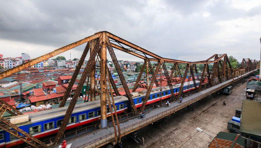 Ferrocarril en Vietnam