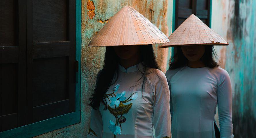 Traje típico Vietnam