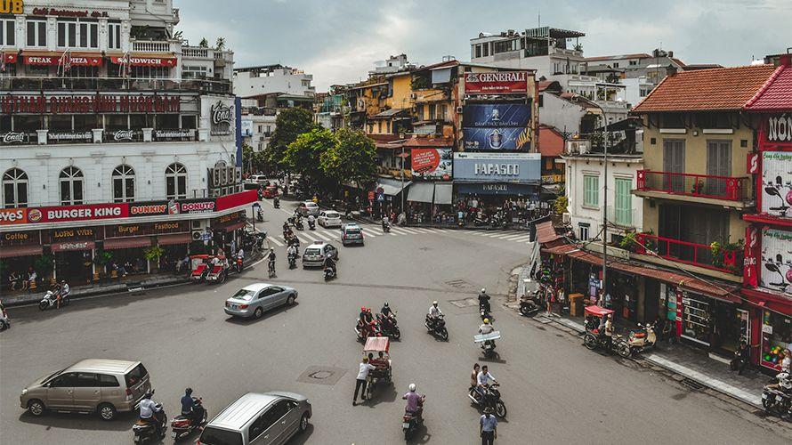 Alquiler de coches en Vietnam