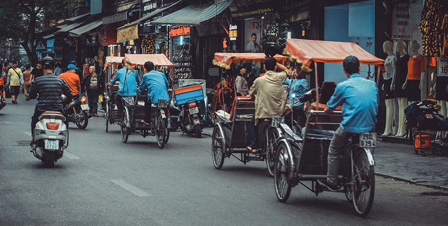 Transporte por Vietnam