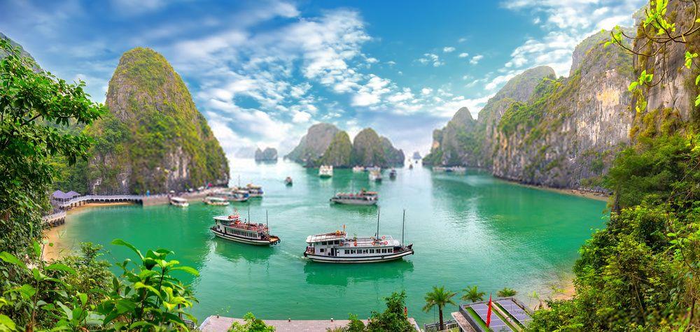 Que ver en Vietnam en 3 dias. Bahía de Halong