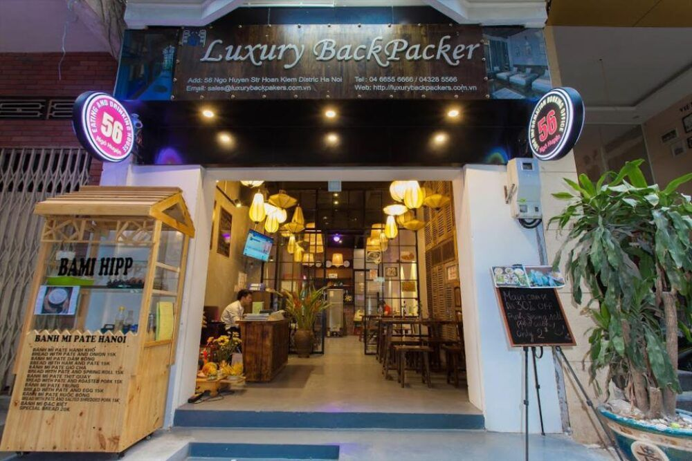 Hotel recomendado en Hanoi Luxury Backpackers Hanoi