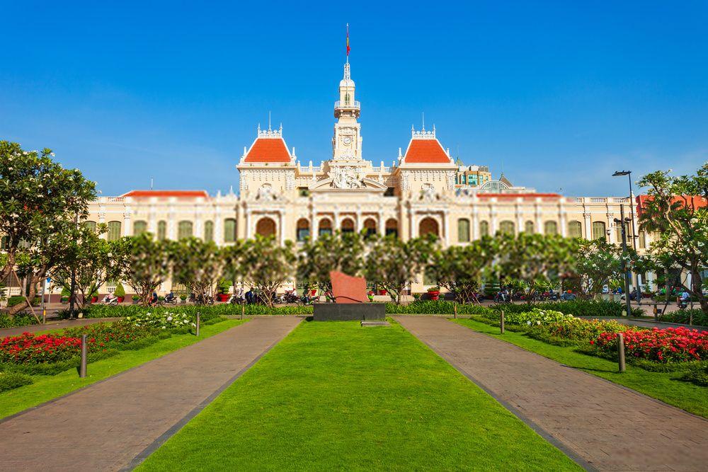 Ayuntamiento de Ciudad Ho Chi Minh, Vietnam