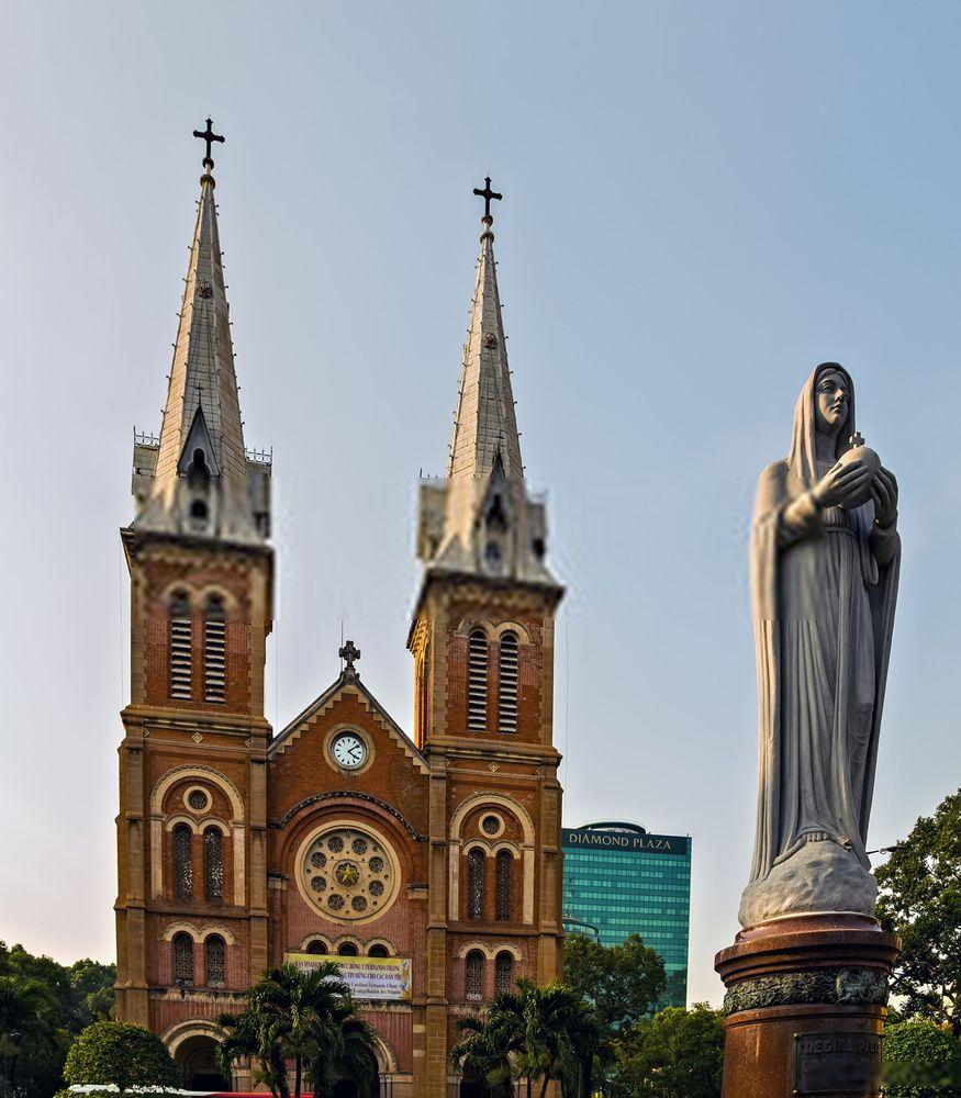 Basílica de Notre-Dame de Saigón, Vietnam