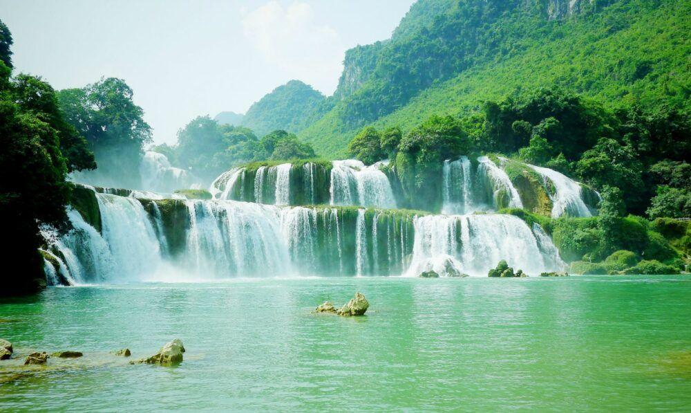 Cataratas Ban Gioc Detian, Vietnam