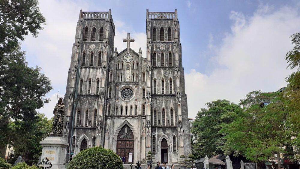Catedral de San José de Hanoi, Vietnam