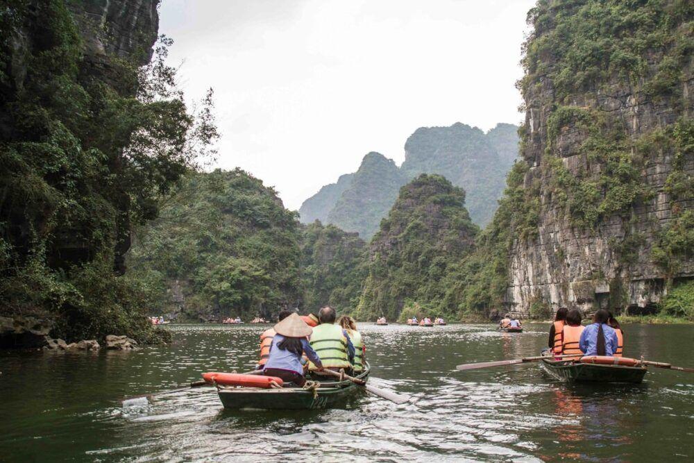 Ecotourism Trang An Boat Tour, Vietnam
