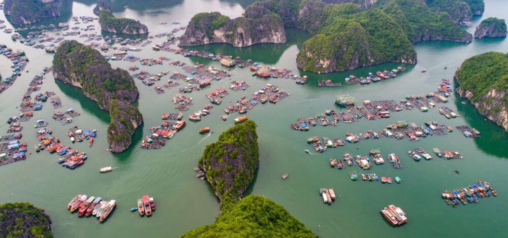 Hai Phong en Vietnam