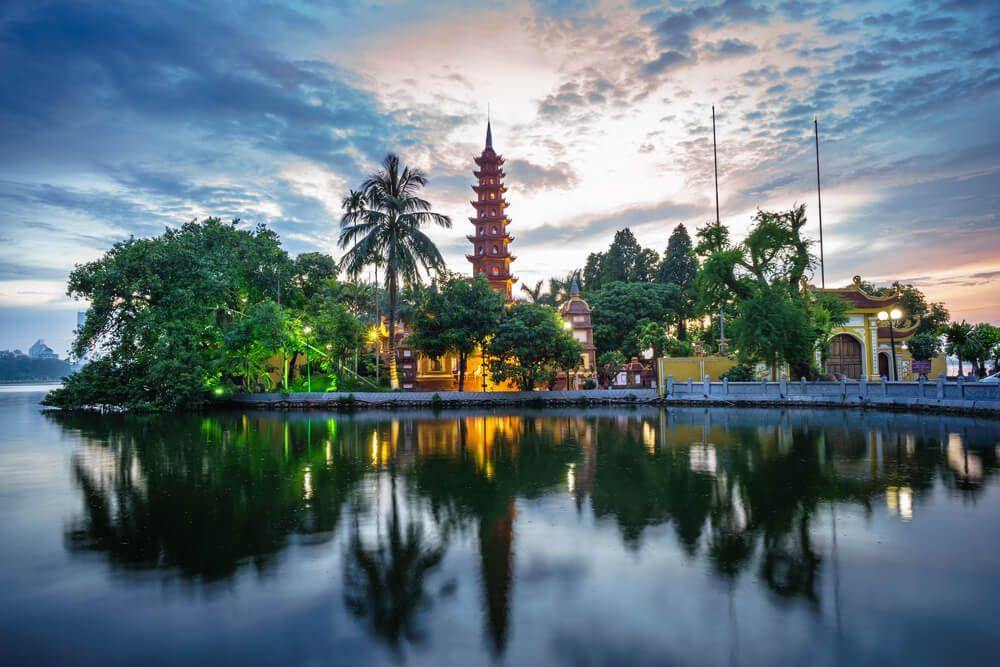 Hanói en Vietnam