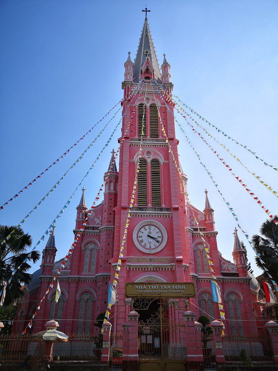 Iglesia del Sagrado Corazón de Jesús, Vietnam