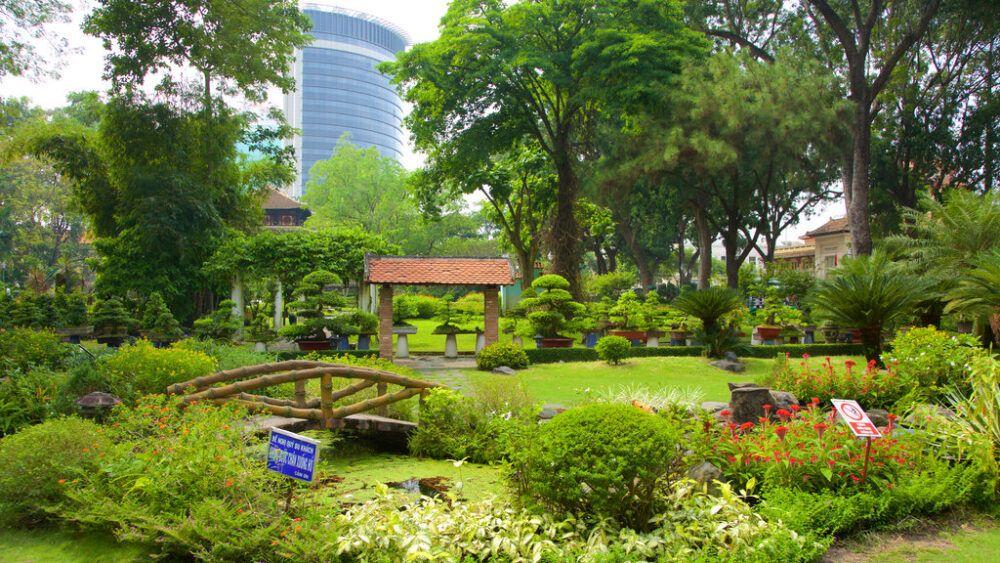 Jardín botánico y zoológico de Saigón, Vietnam
