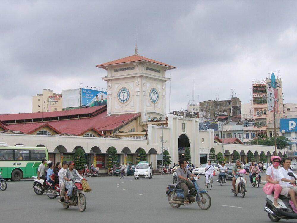 Mercado de Ben Thanh, Vietnam