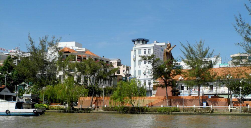 Municipio de Can Tho en Vietnam