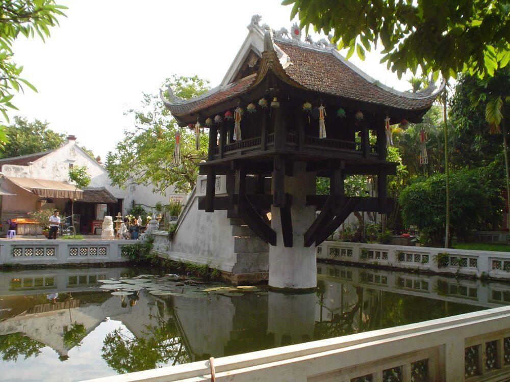 Pagoda del Pilar Único, Vietnam