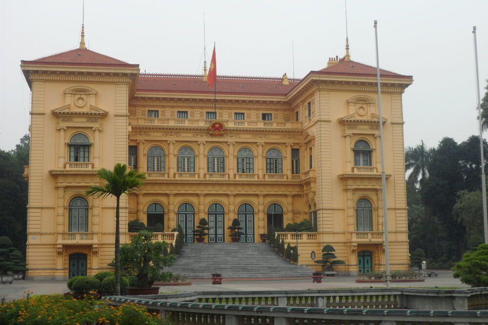 Palacio Presidencial, Vietnam