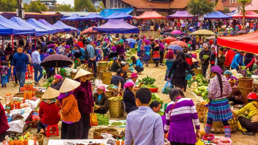 Sapa Market, Vietnam