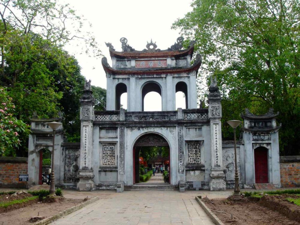 Templo de la literatura, Vietnam