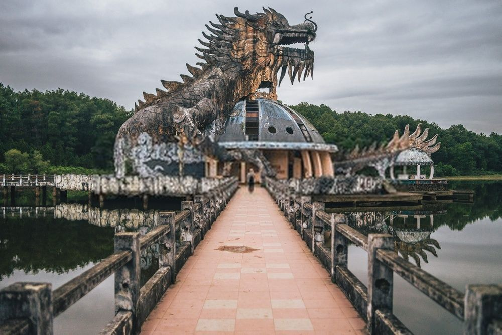 Thuy Tien Lake, Vietnam