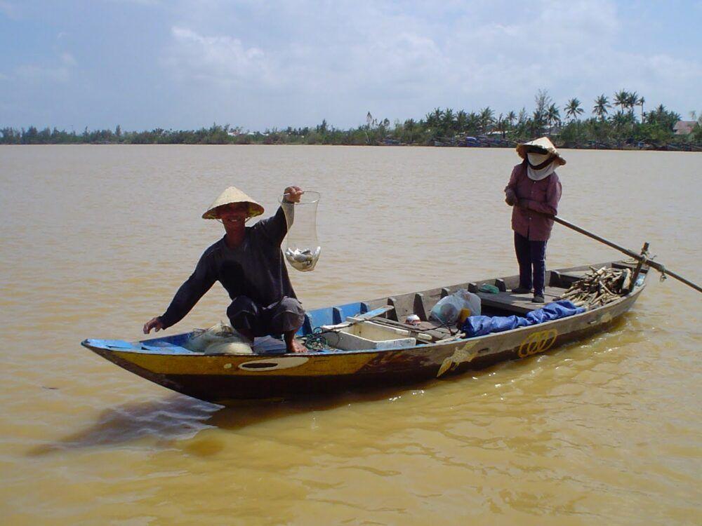 Pesca en Vietnam